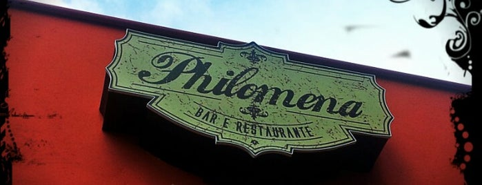Philomena Bar e Restaurante is one of Orte, die Kleber gefallen.