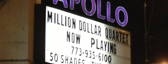 Apollo Theater is one of สถานที่ที่ Michelle ถูกใจ.