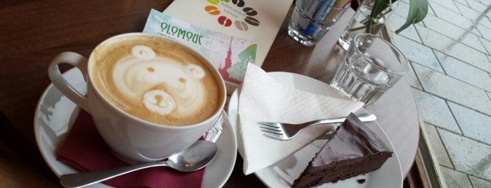 Naše Café is one of USE-IT map Olomouc 2015.