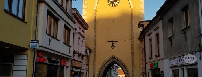 Horní (Plzeňská) brána is one of Tempat yang Disukai Katerina.