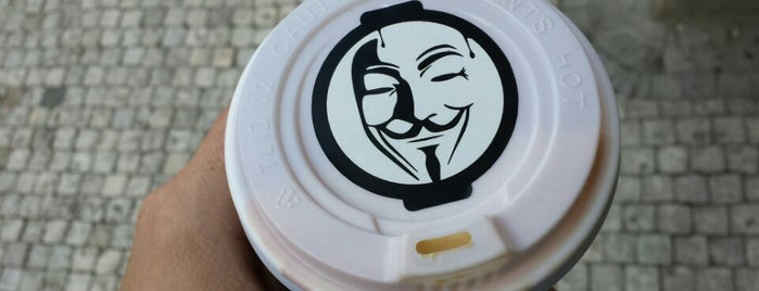 AnonymouS Coffee is one of Prague.