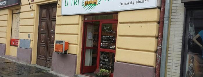 U Tří Farmářů is one of Kde si pochutnáte na kávě doubleshot?.