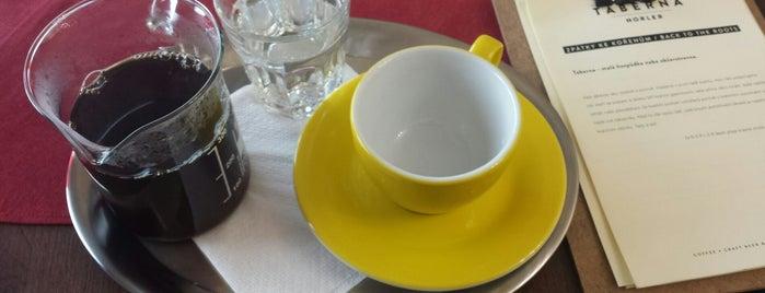 Taberna Norler is one of Kde si pochutnáte na kávě doubleshot?.