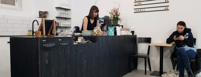 Spell Coffee is one of Best Coffee and Sweet spots in Prague.