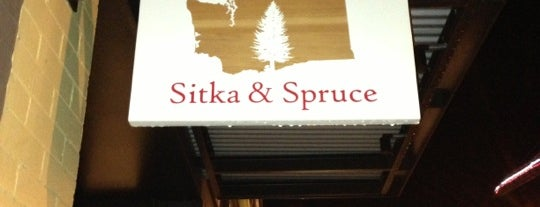 Sitka and Spruce is one of Seattle Eats.