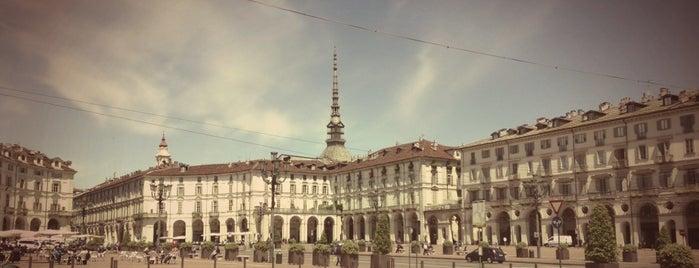Piazza Vittorio Veneto is one of Turin.