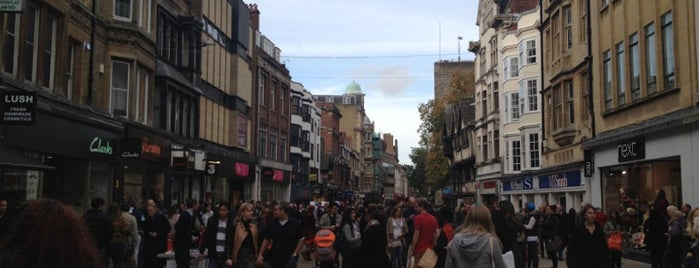 Cornmarket Street is one of oxf.