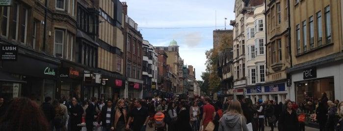 Cornmarket Street is one of oxf.