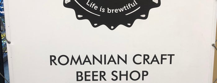 The Beer Institute - Romanian Craft Beer Shop is one of Alex's Saved Places.