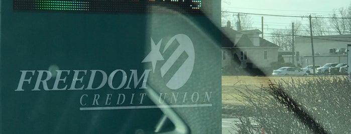 Freedom Credit Union is one of Paul'un Beğendiği Mekanlar.