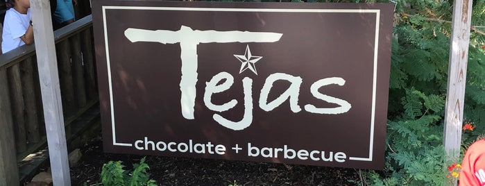 Tejas Chocolate Craftory is one of TM Top 50 BBQ Joints in TX 2017.