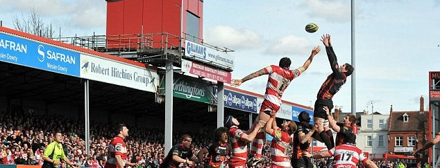 Kingsholm Stadium is one of Carl 님이 좋아한 장소.
