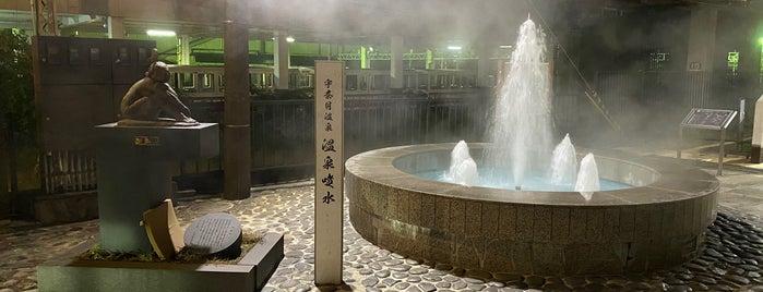 宇奈月温泉 温泉噴水 is one of 高井'ın Beğendiği Mekanlar.