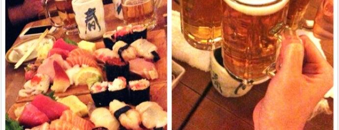 Tomoe Sushi is one of NYC eats.