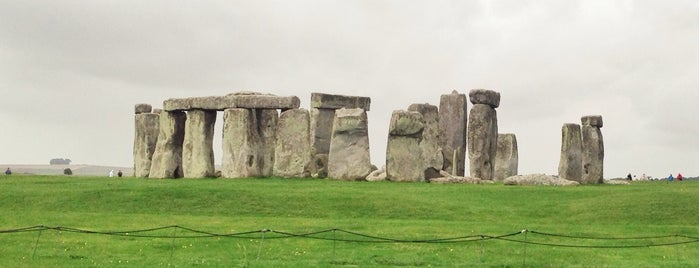Stonehenge is one of Go Ahead, Be A Tourist.