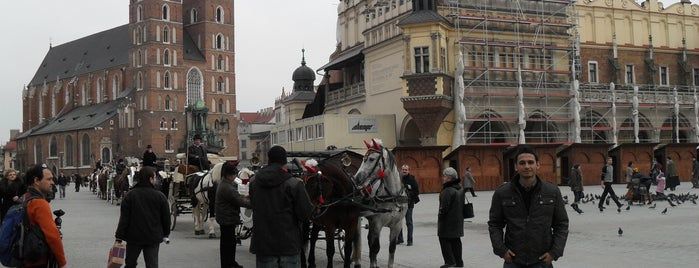 Rynek Główny is one of Locais curtidos por NUCRO.
