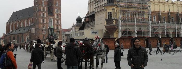 Rynek Główny is one of NUCRO 님이 좋아한 장소.