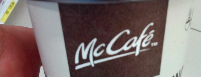McCafé is one of Locais salvos de Fabrício.
