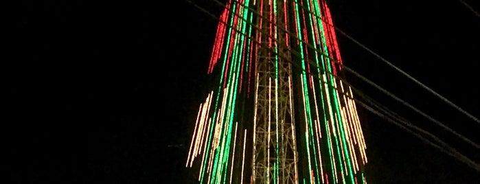 Árvore de Natal de Mirassol is one of Locais curtidos por Jaqueline.