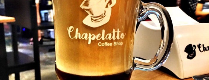 Chapelatto Coffee Shop is one of Locais curtidos por Jaqueline.