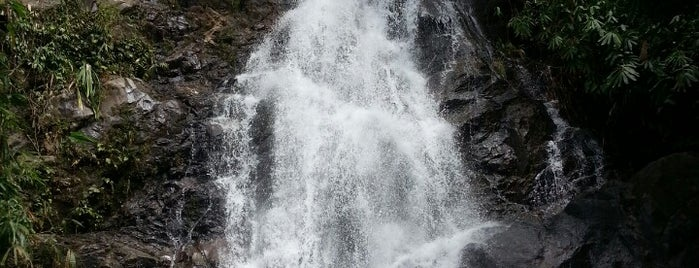 Sai Rung Waterfall is one of Trips / Thailand.