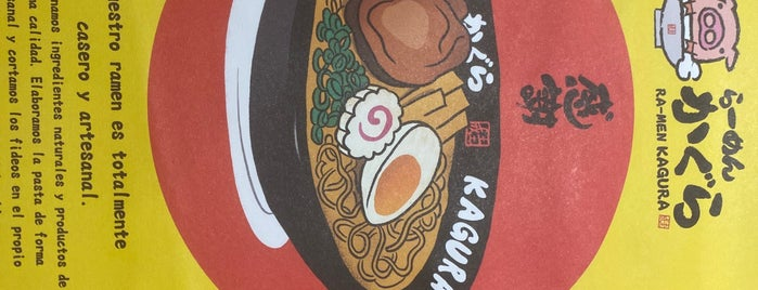 Ramen Kagura is one of To Try.
