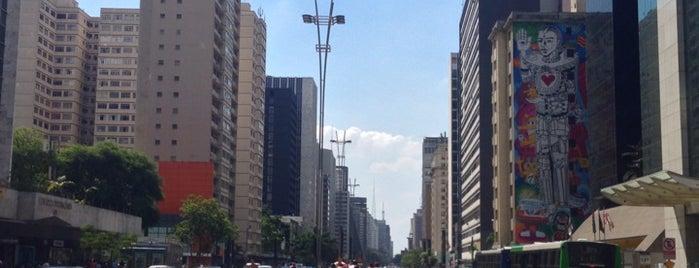Ciclovia Paulista is one of Lugares favoritos de Pedro.