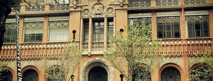 Fundació Antoni Tàpies is one of Spain. Barcelona.