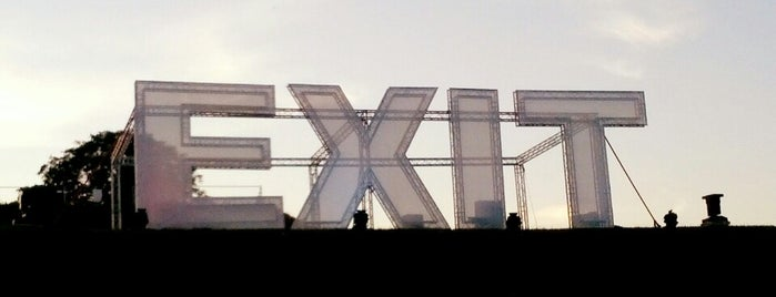 EXIT Festival is one of NOVI SAD best place.