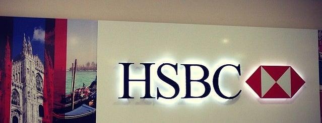 HSBC is one of Tempat yang Disukai Murat.