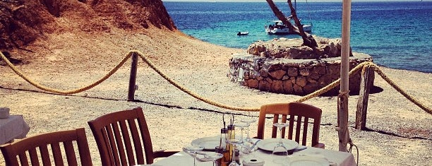 Restaurant Sa Caleta is one of Ibiza.
