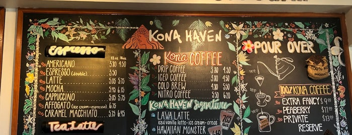 Kona Haven Coffee is one of Lugares guardados de Whit.