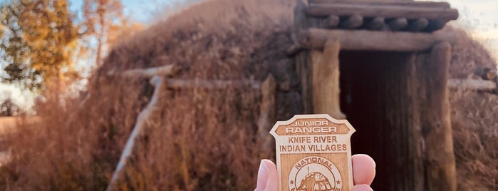 Knife River Indian Villages National Historic Site is one of Glacier to Chicago.