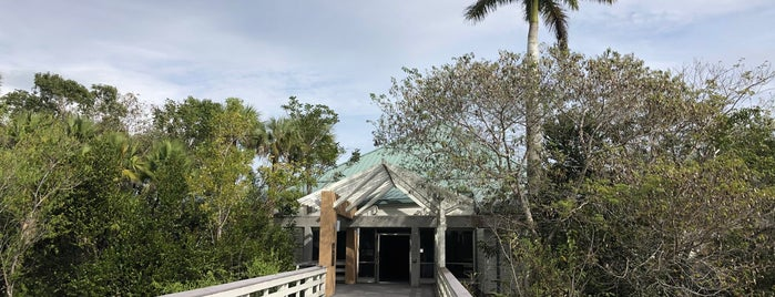 Ernest F. Coe Visitor Center is one of Favorite spots to visit.