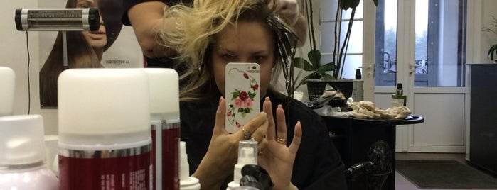 """Салон красоты """"Гранат"""" 💅💇💆 is one of Mariaさんのお気に入りスポット."""