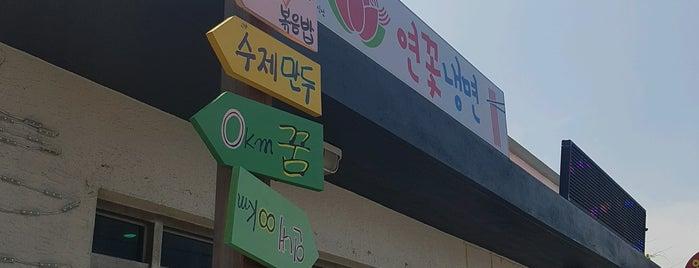 연꽃냉면 is one of Jeju Master Class.