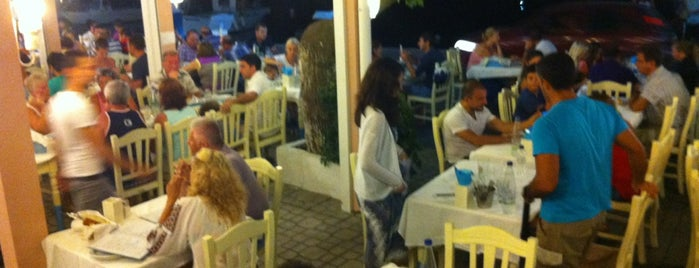 Simi Restaurant is one of Thassos.