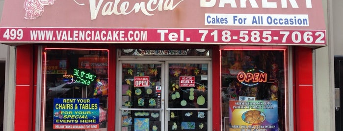 Valencia Bakery Inc is one of Best Bakeries in NYC.