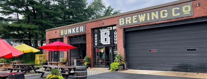 Bunker Brewing Co is one of Posti salvati di Rachel.