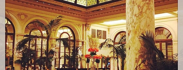 The Plaza Hotel is one of USA: Hotels.