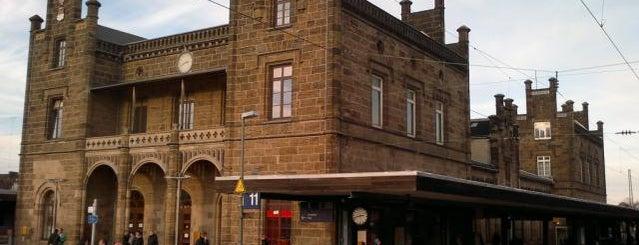 Bahnhof Minden (Westf) is one of Bahnhöfe besucht !.