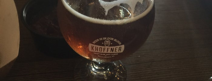 Khoffner Brewery USA is one of Fort Lauderdale: December 2016.