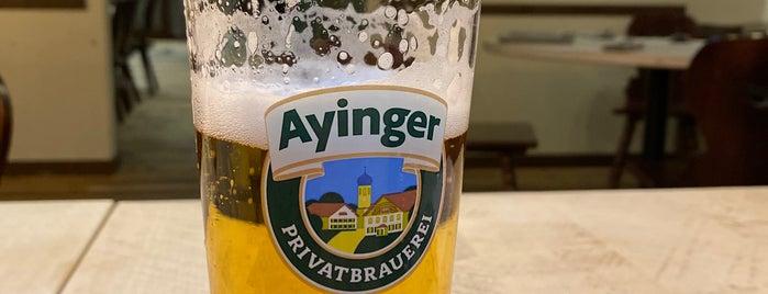 Ayinger in der Au is one of Munich.