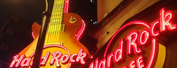 Hard Rock Cafe Atlanta is one of Been there, liked it..