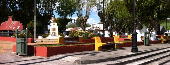 Plaza de Armas Curaco de Vélez is one of Chiloe 2012.
