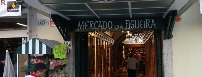 Mercado da Figueira is one of Lisbon.