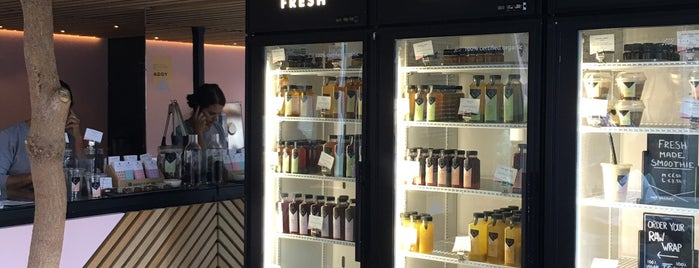 The Cold Pressed Juicery is one of Aptraveler'in Kaydettiği Mekanlar.