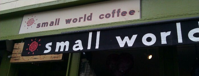 Small World Coffee is one of Lieux qui ont plu à Emilie.