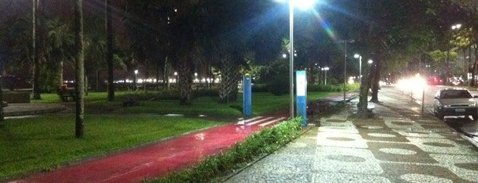Calçadão da Orla de Santos is one of Guilherme 님이 좋아한 장소.