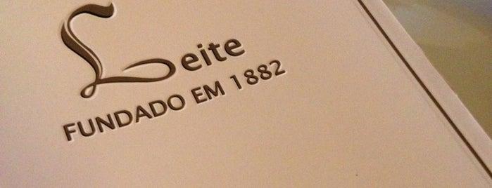 Restaurante Leite is one of Recife & Olinda / Food.
